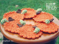 small_thumb_Free_Halloween_Thanksgiving_Pumpkin_Coasters_Crochet_Pattern